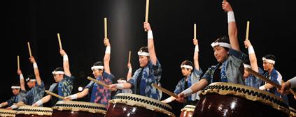<お知らせ> 学生「和太鼓悳」一般公開の催しに出演