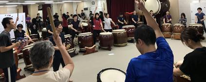 和太鼓教室2019 春夏講座お申込みスタート